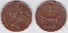 Fiji 1 cent 1986