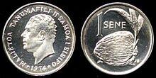 Samoa 1 sene 1974 Ag