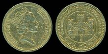 Gibraltar Coinage £1