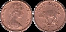 Bermuda 1 cent 1975