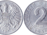 Austrian 2 groschen coin