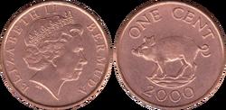 Bermuda 1 cent 2000