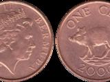 Bermudian 1 cent coin