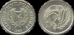 Cyprus cent 1983