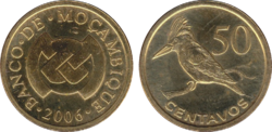 Mozambique 50 centavos 2006