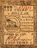 Continental Currency One-Third-Dollar 17-Feb-76 obv