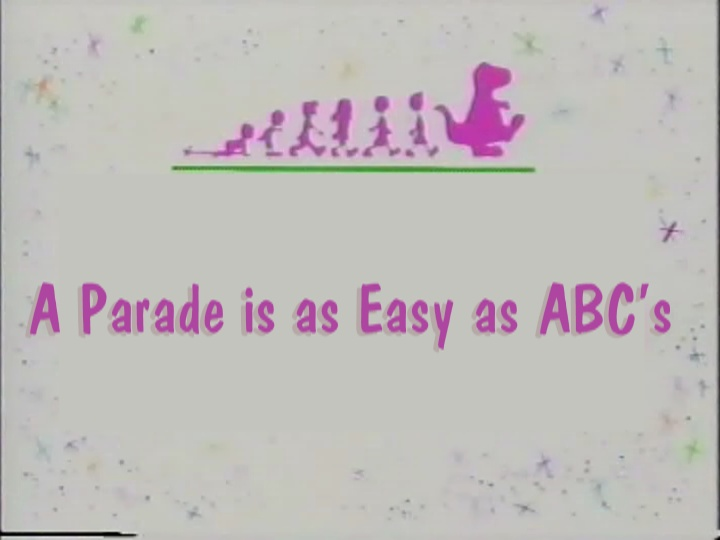 A Parade Is As Easy As Abcs Custom Barney Episode Wiki Fandom