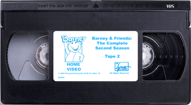File:Barney & Friends The Complete Second Season Tape 2.png