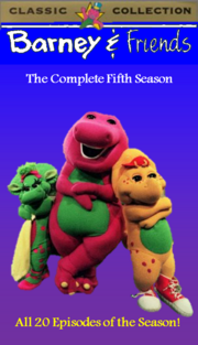 Barney & Friends The Complete Fifth Season