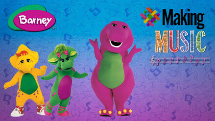 Making Music with Barney! 2016 cover