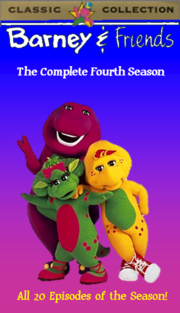 Barney & Friends The Complete Fourth Season