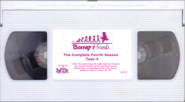 Barney & Friends The Complete Fourth Season Tape 4