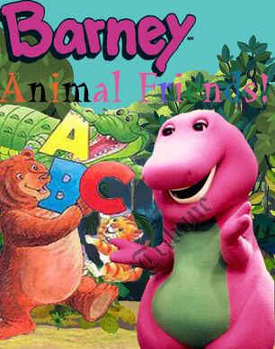 Barney-Custom-Poster---Animal-Friends
