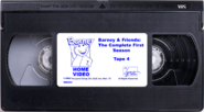 Barney & Friends The Complete First Season Tape 4