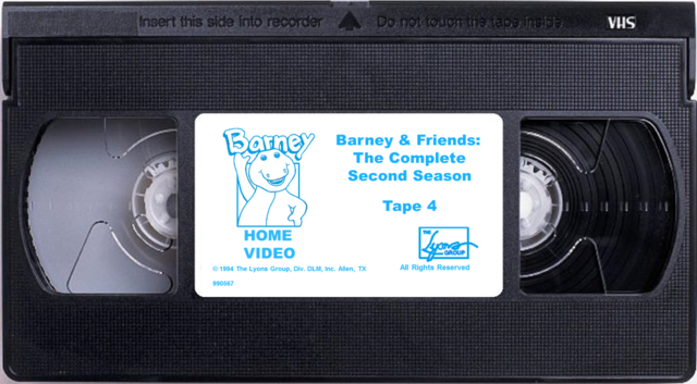 File:Barney & Friends The Complete Second Season Tape 4 (Renumbered).png