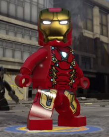Lego Iron Man MK 46 profile