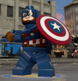 Lego Captain America AAOU profile