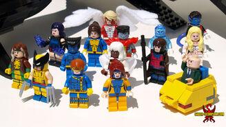 Xmen lego minifigs