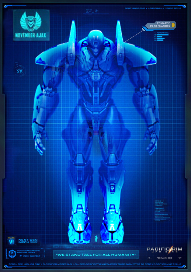 Pacific Rim Equipment >> November Ajax | Custom Pacific Rim 2/Novels/ideas Wiki ...