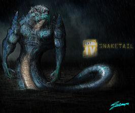 Pacific rim kaiju codename snaketail by santoski-d6emg0y