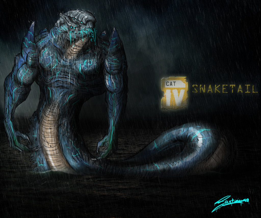 Snaketail | Custom Pacific Rim Wiki | FANDOM powered by Wikia Pacific Rim Kaiju Category 100
