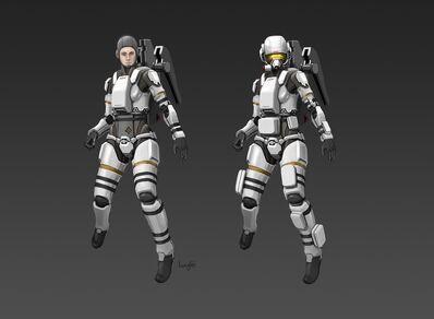 Civilian space suit cm81 by longgi-d5fnn64