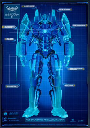 Azure defiant custom pacific rim wiki fandom powered by wikia azures blueprint malvernweather Images