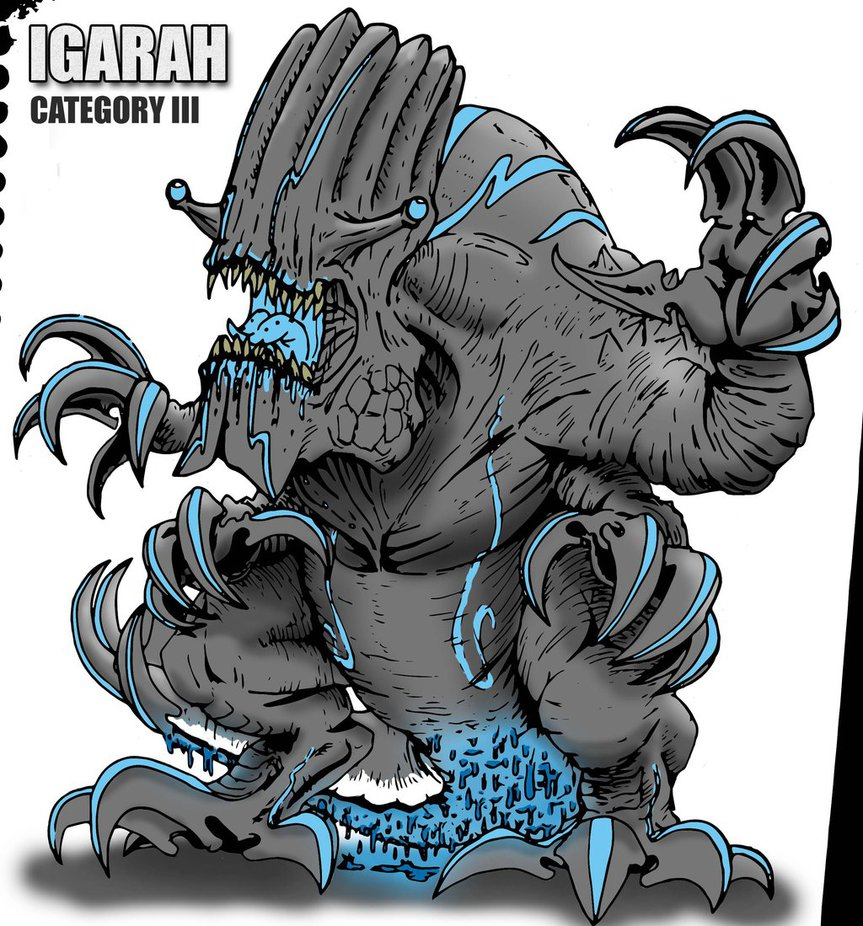 Image - Pacific rim kaiju igarah color by kaijugroupie84-d6fvmfu.jpg ...
