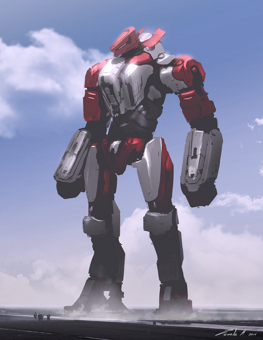 Custom Jaeger Concept Art