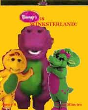 Barney in Winksterland VHS Cover