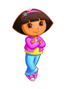 Dora jacket and jeans