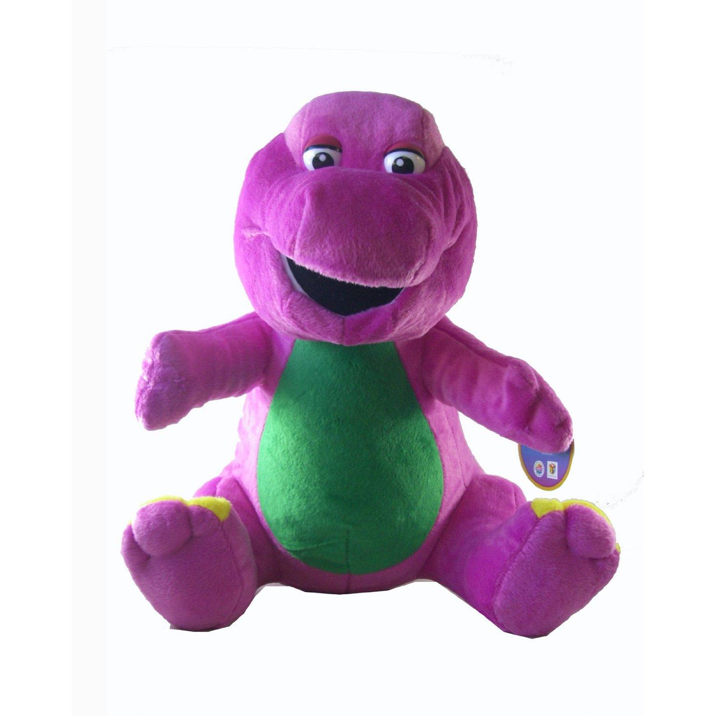 Le Chat Noir Boutique Barney The Dinosaur I Love You Singing Plush Lovey Toy Friends Barneyiloveyousingingplush