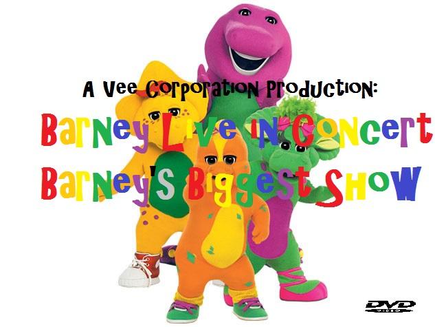 Barney Live In Concert Barneys Biggest Show Custom Barney Wiki - Concert barney wiki