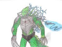 Reptilian Drawing