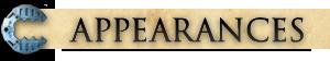 Appearances banner