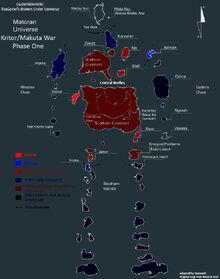 Makuta Kritor War