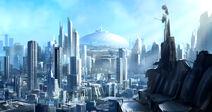 Ic-Metru blue city by joakimolofsson-d5x534c