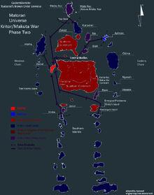 Makuta Kritor War Part 2