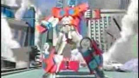 Transformers Car Robots (Robots in Disguise) Japanese Intro