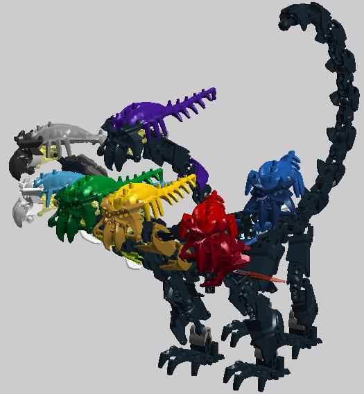 lego hydra dragon