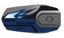 Mike Power Nameplate
