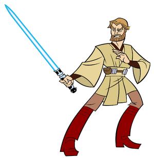 Recolored Obi-Wan