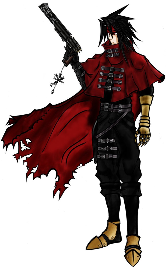 Image Vincent Valentine Artwork Png Custom Kingdom Hearts Wiki