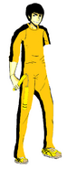 Cartooned Bruce Lee 2