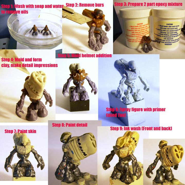 Covenant Grunt Ultra - by Engineerio | Custom Mega Bloks