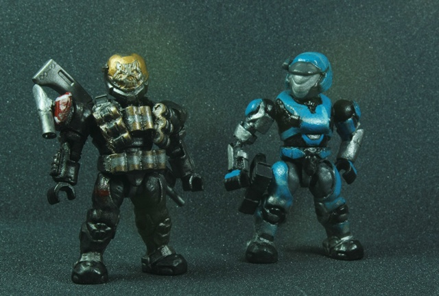 Noble Team | Custom Mega Bloks Halo Wiki | FANDOM powered by
