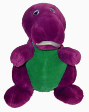 The Backyard Gang Sleepover - Barney Plush