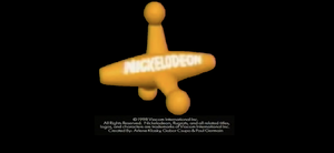 Nickelodeon Logo From The Custom Rugrats Video Lucky Days!