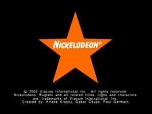 Nickelodeon Logo From big sleepover party