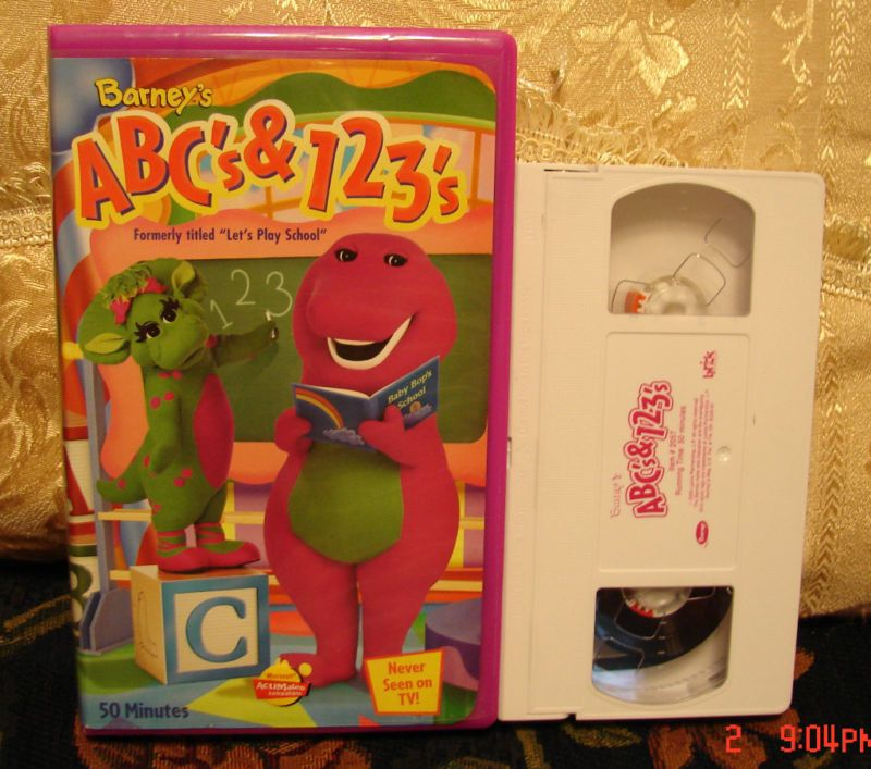 Trailers From Barney's ABCs And 123s 2000 VHS